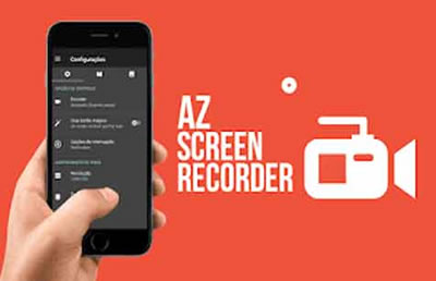 AZ Screen Recorder: App para gravar a tela do celular