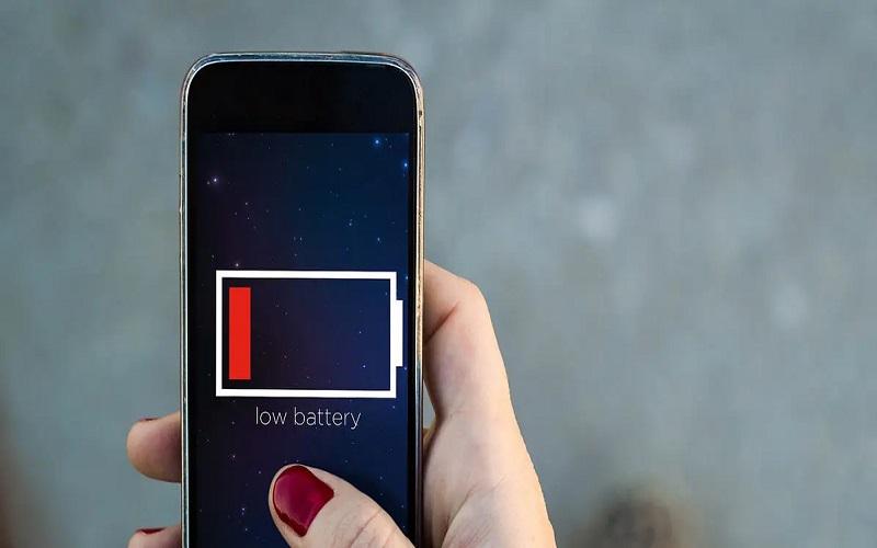 bateria do celular viciada