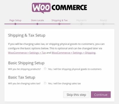 WooCommerce - Custo