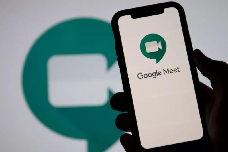 Como ativar a câmera no Google Meet?