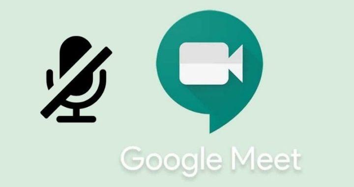 Como ativar o microfone no Meet