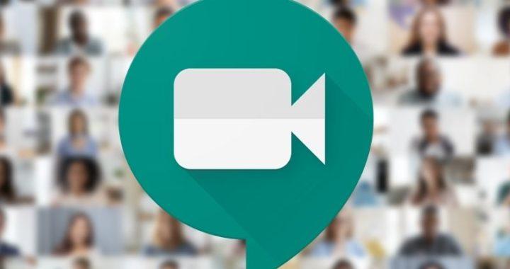 Iniciar reunião Google Meet