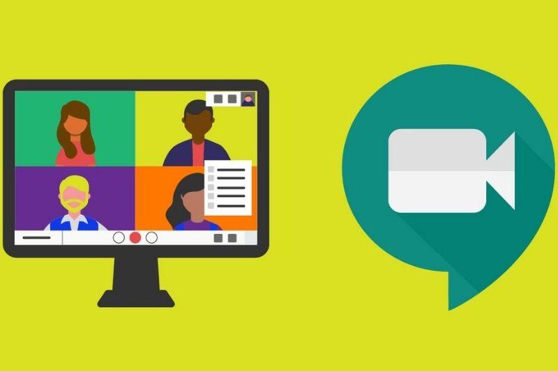 Iniciar reunião Google Meet pelo computador